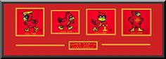 Iowa State Team Wool Blend Fabric Logos Throughout The Years With Team Color Double Matting-Framed Awesome & Beautiful-Most College Team Banners Available-Plz Go Through Description & Mention In Gift Message If Need A different Team Art and More, Davenport, IA http://www.amazon.com/dp/B00LAT620W/ref=cm_sw_r_pi_dp_LoFDub0B0DN8P