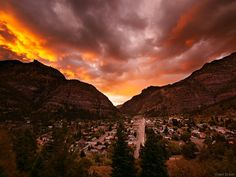 Ouray, Colorado Sunset - Can you blame me for this being my favorite place?