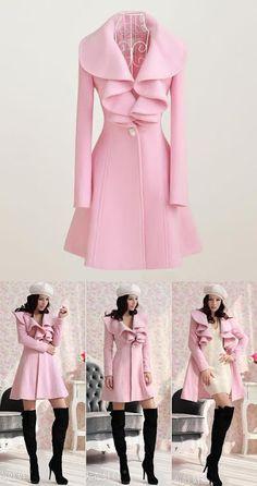Trench Coat/ Casaco/ Sobretudo Moda Barbie Importado - R$ 260,00 no MercadoLivre