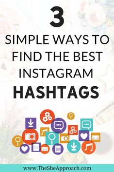 Struggling to grow your Instagram account? Find out how to find and choose the best Instagram hashtags for your account, grow your reach and get more Instagram followers. Instagram tips for bloggers. #instagramtips