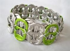 soda can tops bracelet!