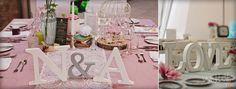Holz & Buchstaben für Hochzeit