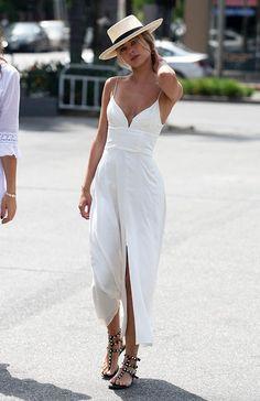 Elegant A-line chiffon simple prom dress - Summer Outfits Fashion Mode, Look Fashion, Womens Fashion, Fashion Trends, Gypsy Fashion, Travel Fashion, Fashion Ideas, Trendy Fashion, Ladies Fashion