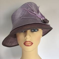 b4033a42 Ladies Occasion Wedding Races Mother Bride Hat Lilac Mauve by Coterie Wedding  Hats, Formal Wedding