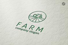 Farm Logo Template @creativework247