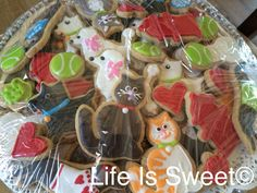 Life is sweet cookie! Humane Society fundraiser. Cats & dogs!