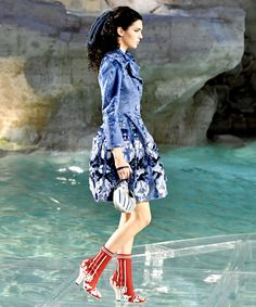Kendall Jenner Hits the Runway at Fendi's 90th Anniversary Show in Two Fairytale Looks from InStyle.com