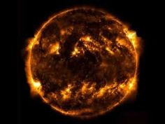 The sun is times larger than the earth! Sun And Earth, The Originals, Nasa, Devil, Larger, Random Stuff, Universe, Times, Space