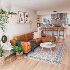 Couches Living Room, Leather Couches Living Room, Tan Couch Living Room, Home, Family Room, Apartment Living Room, Boho Living Room, Home Decor, Living Room Designs