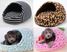 New Pet Bed Warm Dog Cat Nest Bed Fashion Cave Puppy Cushion Kennel Pet Bed