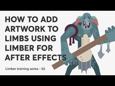 (26) How to add artwork to limbs using Limber for After Effects - YouTube After Effects, Motion Design, Family Guy, Ads, Artwork, Youtube, Fictional Characters, Work Of Art, Side Effects
