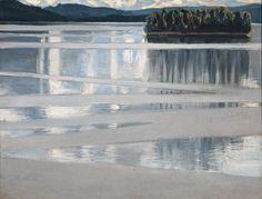 Keitele, 1904, öljymaalaus