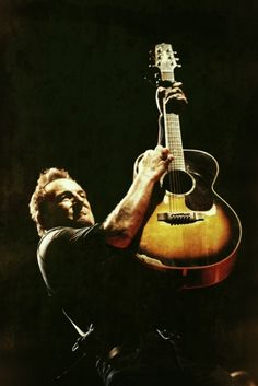 """I've got this quitar and I learned how to make it talk""  Bruce Springsteen"