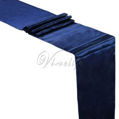 """5PCS New Navy Blue Satin Table Runners 12"""" x 108'' Wedding Party Banquet Home Hotel Table Decorations 30cm x 275cm Sale Only For US $9.77 on the link"""