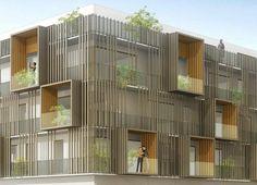 DLA DUMONT LEGRAND ARCHITECTES - 70 Logements - 70 Logements à Saint Jean de Braye