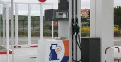 Surtidor de la nueva gasolinera 'low cost' en Salamanca.