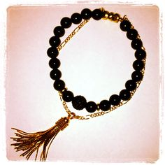 Onyx crystal chain  - click picture to purchase! - $36