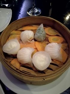 The best dim sum I've had, can be found at Orient in Melrose Arch. Delicious.