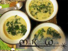 Vegan Irish Garlic Soup via http://www.MissKitchenWitch.com
