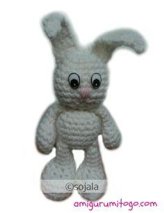 Little Bigfoot Bunny free Crochet Pattern by Amigurumi To Go (sharon ojala)