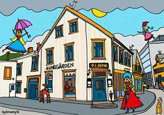 Tromsø - www.dornberg.no Mixed Media, My Arts, Design, Mixed Media Art, Design Comics, Mix Media
