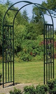 Have to have it Gardman Charleston 75ft Metal Arch Arbor 9298