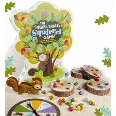 Play The Sneaky, Snacky Squirrel Game from Educational Insights and strengthen your skills pertaining to matching & sorting, strategic thinking, hand-eye coordination, fine motor skills & pre-handwriting skills. Preschool Board Games, Board Games For Kids, Preschool Learning, Toddler Preschool, Learning Resources, Teaching, Toddlers And Preschoolers, Games For Toddlers, Family Game Night