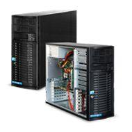 Server Tower - SPECIFICATIONS: Chassis Supermicro CSE-743TQ-865B-SQ; Motherboard Supermicro MBD-X9SRL-F; CPU Intel Xeon E5-2609; RAM Kingston KVR1333D3N9/4Gb; Hard Disk SAS Western Digital 1 TB