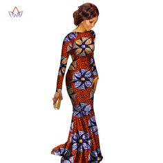 Try our absolutely stunning long dashiki dress that will certainly cause heads to turn. From our African fashion style products, you'll feel relaxed all day in this soft, breathable African cotton. African Dashiki Dress, African Prom Dresses, African Dresses For Women, African Attire, African Wear, African Fashion Dresses, African Style, African Outfits, Ankara Fashion