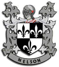 Nelson family crest Ireland