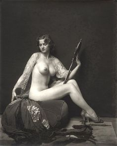 Alfred Cheney Johnston - Dorothy Flood with The Mirror (1920) - Alfred Cheney Johnston - Wikipedia, the free encyclopedia