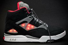 Illuminated Hightop Sneakers