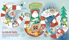 O caminho do Papai Noel