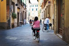 Lucca Italy bicycle