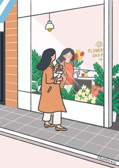 Soft Wallpaper, Kawaii Wallpaper, Wallpaper Iphone Cute, Dibujos Cute, Cute Cartoon Wallpapers, Korean Art, Graphic Design Posters, Cute Illustration, Aesthetic Art