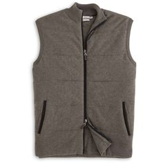 Peter Millar   Quilted Wool-Cotton Vest