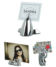 Buy the Animal Photo Holder, Bear from Umbra today! A part of our Photo Frames & Albums range. Desktop Organization, Organisers, Photo Holders, Bear, Animals, Animales, Animaux, Bears, Animal