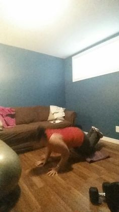 Tricep pushups! Hard!!!!
