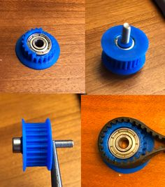 Idler+pulley+for+GT2+belt+with+ComfortFit+flange+by+jltx.