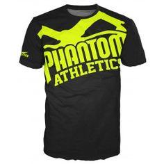 "Phantom Athletics Shirt ""EVO - Supporter 2.0"" - Black/Neon"