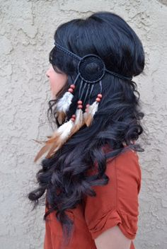 Tribal Dreamcatcher Headband