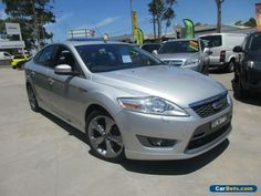 2009 Ford Mondeo MB XR5 Turbo Grey Manual 6sp M Hatchback #ford #mondeo #forsale #australia