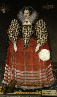 1590ca. Mary (Kytson), Lady Darcy of Chiche later Lady Rivers, daughter of Elizabeth Cornwallis (Tate Britain)