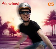 Please bear in mind wearing #Airwheel C5 #colour #intelligent helmet in the right way can prevent your head from being injured by absorbing and spreading the impact energy. --- www.airwheel.net