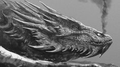 Smaug Wallpaper by TwoDD dragon The Hobbit Lord of the Rings J.R.R. Tolkien monster beast creature animal | Create your own roleplaying game material w/ RPG Bard: www.rpgbard.com | Writing inspiration for Dungeons and Dragons DND D&D Pathfinder PFRPG Warhammer 40k Star Wars Shadowrun Call of Cthulhu Lord of the Rings LoTR + d20 fantasy science fiction scifi horror design | Not Trusty Sword art: click artwork for source