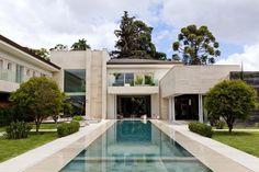 Em Curitiba, um luxo paradisíaco