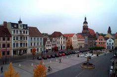 Der alte Markt ist das Zentrum von Cottbus >> Cottbus