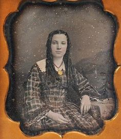 RARE 1850's 1 6th Plate Signed NYC Young Lady Daguerreotype Photo by J P Weston   eBay
