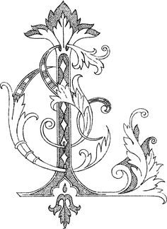 Image detail for -... for clothes and bedding, for a wife by the initials E L or L E