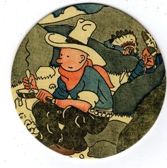 TINTIN ET LES INDIENS LUXUEUX SOUS-BOCK EDITIONS MOULINSART Sous Bock, Objects, Comics, Illustration, Pyrography, Illustrations, Comic Book, Comic Books, Comic